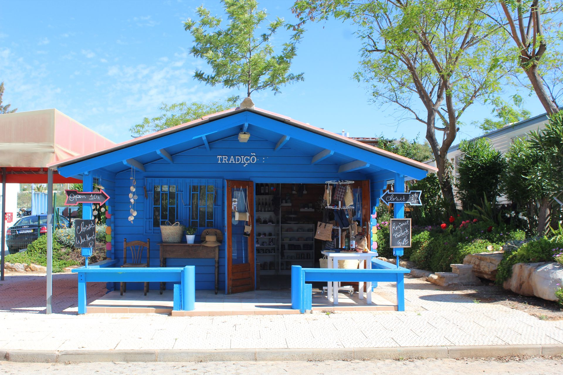 store camping ria formosa