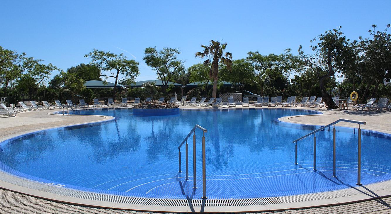 Parque de Campismo Ria Formosa - big campsite Algarve