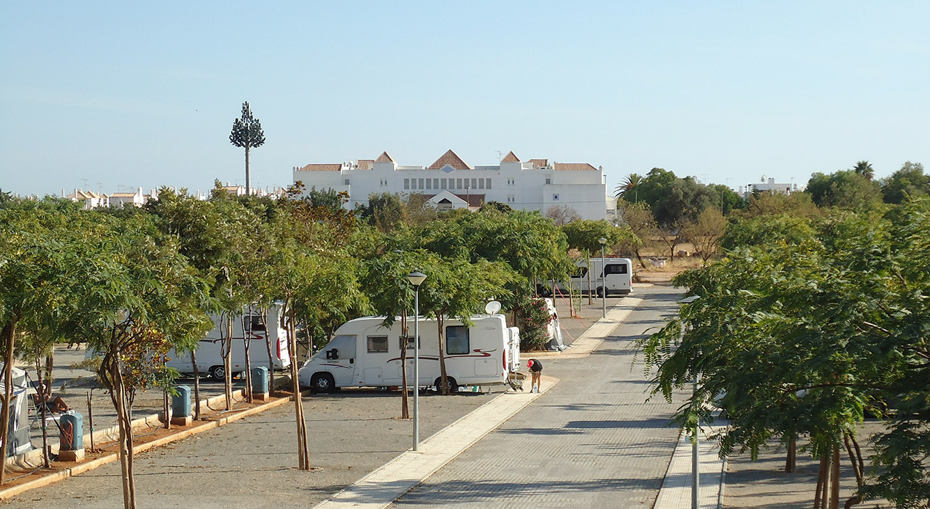 Caravanas e Autocaravanas - camping ria formosa algarve